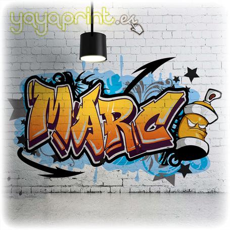 Graffiti con tu nombre personalizado 01