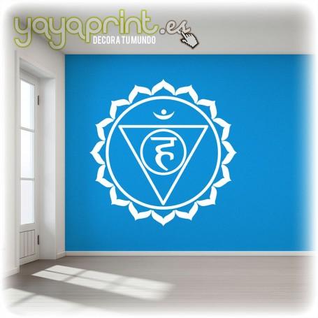 Vinilo quinto chakra. Vishuddha